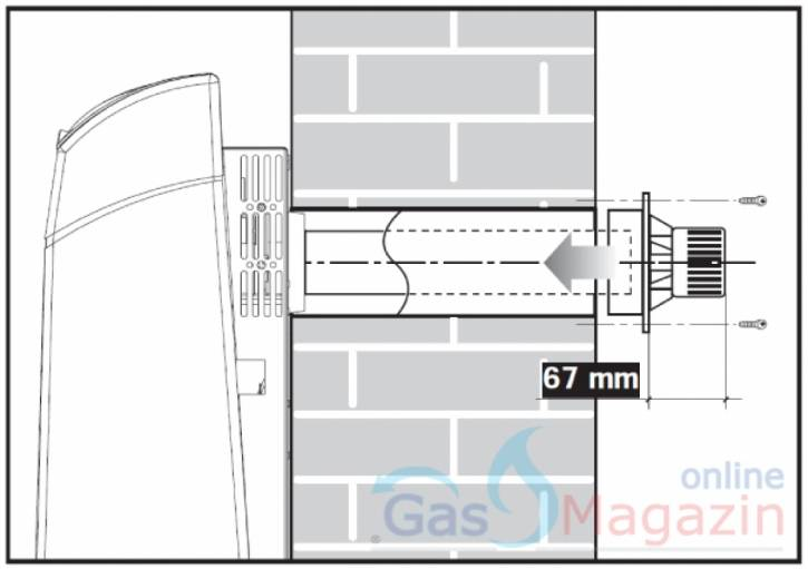 Газов конвектор ECHO XN-45 пиезо запалване, вентилатор