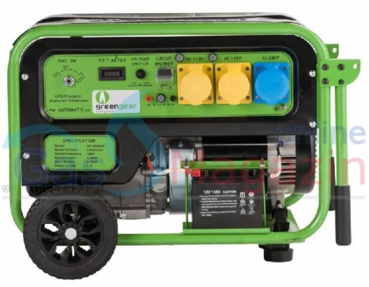Газов генератор трифазен 6 kW пропан бутан