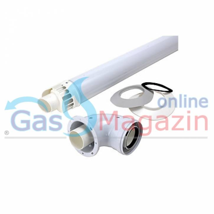 Газов бойлер със затворена горивна камера RIELLO Mini 17, метан