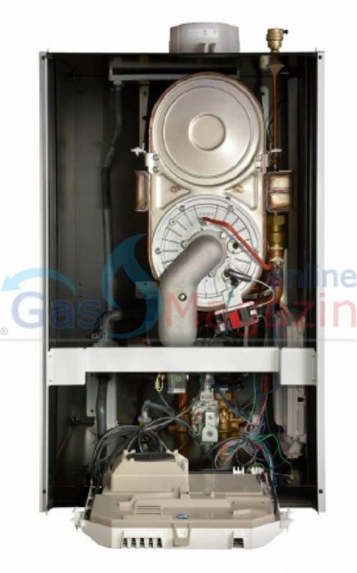 Газов котел, Baxi Luna Duo-tec E 24 GA 25kW с проточен бойлер метан
