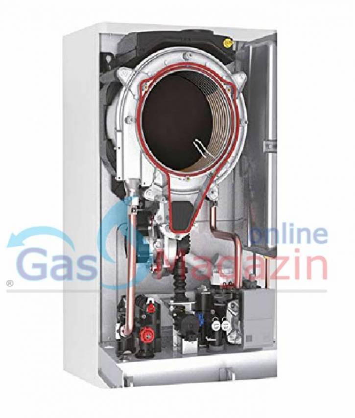 Кондензен газов котел FERROLI BLUEHELIX TECH RRT 28 C 26kW с проточен бойлер метан