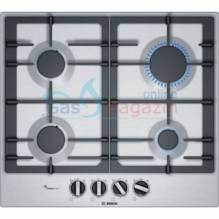 Газов готварски плот, неръждаема стомана BOSCH PCP6A5B90