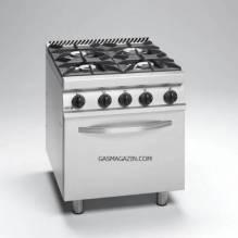 FAGOR CG7-41 H, газова печка с газова фурна и 4 мощни горелки