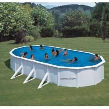 Сглобяем басейн овал 730х375х120