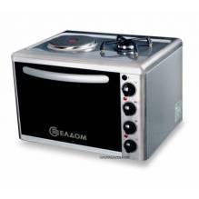 Мини газова печка с ел. котлон, Елдоминвест 313V