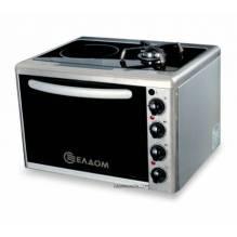 Мини газова печка с ел.котлон, Елдоминвест 311V
