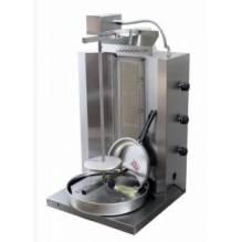 Газов дюнер VIMITEX вертикални пити 3 горелки